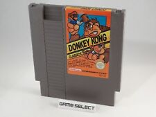 DONKEY KONG CLASSIC DK NINTENDO NES 8 BIT PAL B FRA CARTUCCIA ORIGINALE