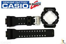 CASIO GA-100-1A4 G-Shock Original Black BAND & BEZEL Combo GA-100