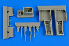 AIRES 4626 Wheel Bays for Trumpeter® Kit Supermarine Attacker in 1:48