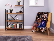 Large Warm Sofa Fleece Throw Whitney Houston Coloured Montage Soft Blanket Gift