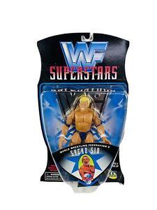 WWE WWF JAKKS PACIFIC Superstars Series 3 Sycho Sid Wrestling Figure 1997 Retro
