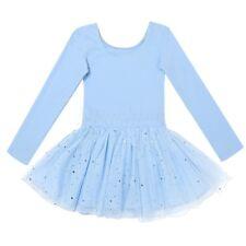 Gymnastics Child Girls Ballet Tutu Skirt Dance Costume Leotard Dancewear Dress