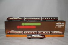 MARKLIN Z SCALE #8873 TRANS-EUROP EXPRESS ENGINE AND PASSENGER CARS SET, BOXED