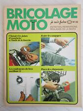 BRICOLAGE MOTO N° 22 /rodage soupapes,joints de fouche,roulements bras oscillant