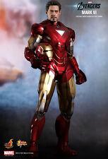 Hot Toys Avengers Promo Limited Edition Iron Man Mark VI MK6 MMS171 New! Sealed!
