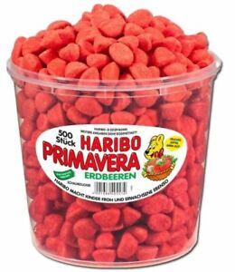 Haribo Primavera Erdbeeren 500 St. 1,15 kg