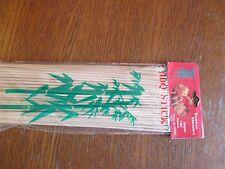 100 brochettes bambou  neuf