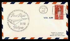 DR WHO 1964 EDWARDS CA FIRST FLIGHT VALKYRIE AIR MAIL C184677