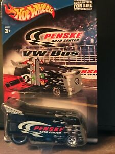 Hot Wheels Penske VW Bus Special Black/Silver Edition on Card