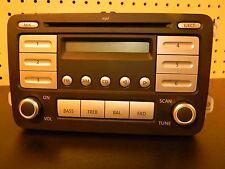 AUTO USED CLEAN OEM AM/FM Radio Tape 2007 2008 2009 VW EOS JETTA RABBIT 28076782