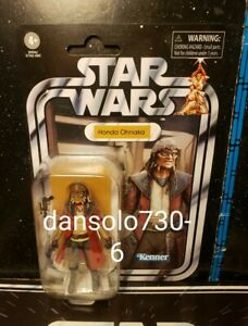 Star Wars Vintage Collection HONDO OHNAKA VC173 **card flaws**