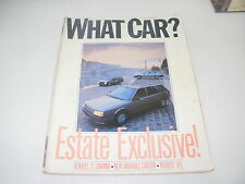 WHAT CAR ?   MAGAZINE  DECEMBER  1986    ENGLISH MONTHLY