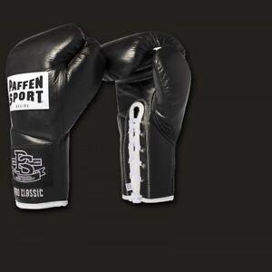 Pro Claasic Boxhandschuh  Wettkampf von Paffen Sport, Gr. 8oz + 10oz, echt Leder