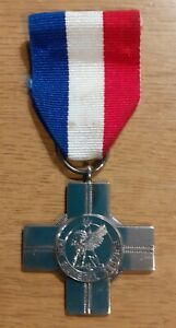 The General  Service Cross - Sterling Silver Medal .Pte.K.Boddy R.Anglian Reg.