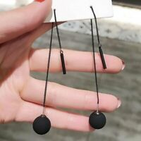 Fashion Tassel Threader Earrings Long Stud Drop Dangle Party Charm Women Jewelry