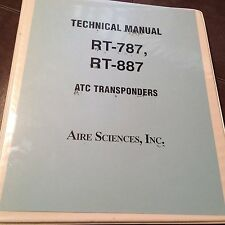 Edo RT-787 and RT 887 Transponders Install & Service Manual