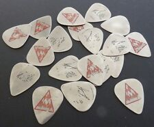 Phil Collin Def Leppard Vintage METAL Concert Tour Issued Guitar Pick HEAVY USE