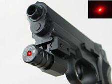 NUOVO CACCIA LASER ROSSO Dot Sight Scope ADJ 11/20mm RAIL PER PISTOLA FUCILE PISTOLA