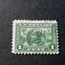 US Stamp Scott# 401  Vasco Nunez de Balboa 1914-15 L193