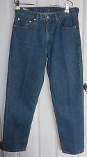 Levis 550 Blue Jeans 33x32 100% Cotton