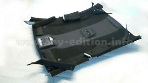BMW F06 Leather+Alcantara Black Headliner Headlining Sky Roof Fairing