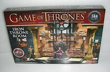 McFARLANE TOYS Game of Thrones Iron Throne Room Construction Set NEW Sealed