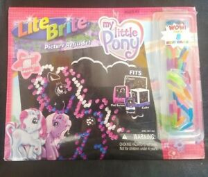 Modern 2003 My Little Pony Lite Brite Picture Refill-SEALED-Fits All Screens!!!