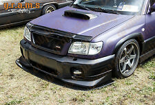 Forester 185cm Front Bumper Splitter / Lip with PAIR of SUPPORT RODS V6