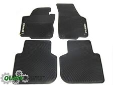 2012-2017 VW Volkswagen Passat NAR Rubber Monster Floor Mats Set GENUINE OEM NEW