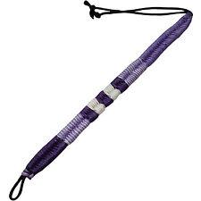 Lavender Hemp Waxed Cotton Braided Bendy Wristband Bracelet Bangle Girls Jewelry