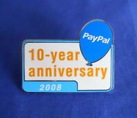 ebay Live 2008 Chicago Paypal 10 Year Anniversary Lapel Hat Pin