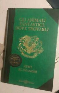 Animali fantastici dove trovarli prima edizione