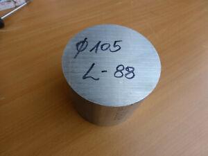Aluminium Rundmaterial Ø 105 mm Länge 88 mm  Alu Rund TOP