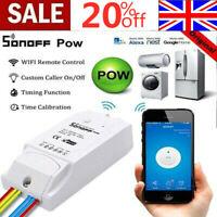Sonoff Pow R2 16A WiFi Wireless Smart Swtich Module Pow Consumption Measurement-