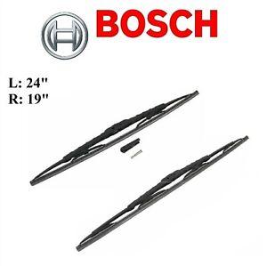 2PCS BOSCH FRONT L&R D-Connect Wiper Blade For INFINITI FX35 2009-2012/FX37 2013