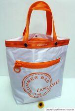 Lancaster Summer Bag OVP Tasche Badetasche Weiß Orange Sommer Strand Urlaub