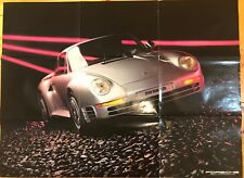 1986 Porsche 959 Poster / Catalog / Brochure 911 944 928S Coupe Turbo Carrera