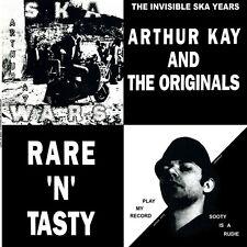 ARTHUR KAY AND THE ORIGINALS RARE `N`TASTY LP (black vinyl)