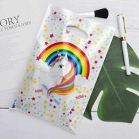30Pcs Magical Rainbow Unicorn Party Bags Loot Treat Plastic Gift Bag Best