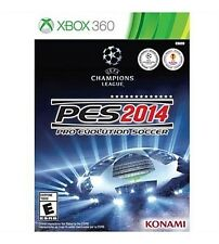 Pro Evolution Soccer PES 2014 Xbox 360 Brand New & Factory Sealed
