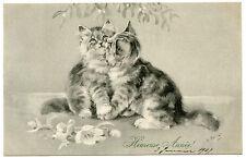 NANCY PARKER. LES CHATS AMOUREUX. CHATONS. KITTENS. LOVERS CATS. M.M. VIENNE