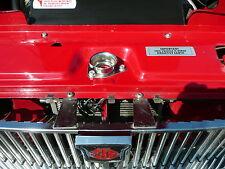 MGB MGC MG Midget Austin Healey Sprite INOX NUOVA CUFFIA Tazza Di Centraggio + Bulloni +