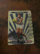 2014 TEAM COACH GOLD CARD GEELONG CATS NO: 24 ANDREW MACKIE CARD TEAMCOACH