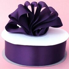 """100yds Double Face Satin Ribbon 5/8""""x100yd ANY COLOR ~Elegant and Lovely Sheen"""
