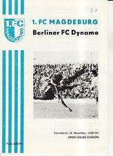 OL 81/82 1. FC Magdeburg - BFC Dynamo Berlin