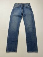 LEVI'S 501 STRAIGHT Jeans - W29 L32 - Blue - Great Condition - Men's
