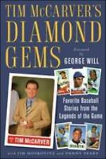 New Tim McCarver's Diamond Gems With Jim Moskovitz And Danny Peary Hard Cover
