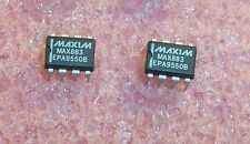 QTY (2) MAX883EPA MAXIM 8 PIN DIP LOW DROP OUT REGULATOR NOS