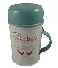 Gisela Graham Enamelware Flour Shaker - Baking Kitchen Accesory - Gift for Women