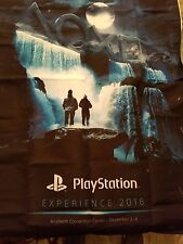 Sony PlayStation Experience PSX 2XL Men's Shirt, Bag, Flag, Water Bottle, Cards